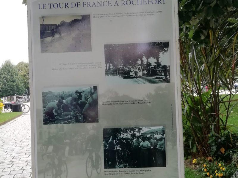 Le Tour de France à Rochefort 2020