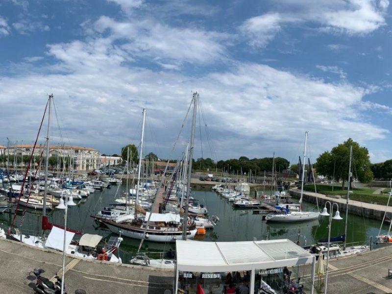 ROCHEFORT Vue port de plaisance 1